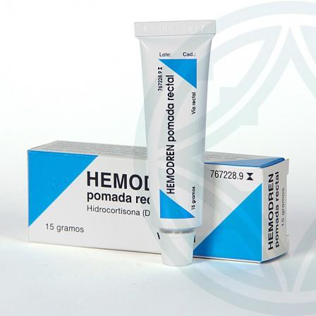 Farmacia Jiménez | Hemodren Rectal pomada 15 g