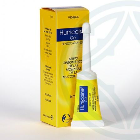 Farmacia Jiménez | Hurricaine gel tópico bucal 6 ml