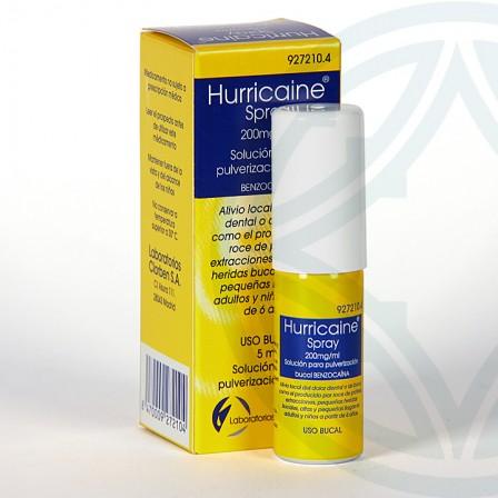 Farmacia Jiménez | Hurricaine solución para pulverización 5 ml