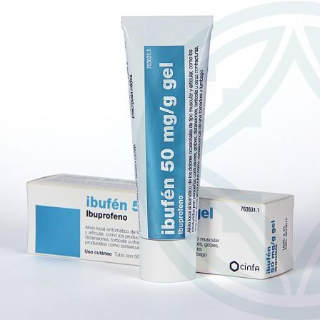 Farmacia Jiménez | Ibufen Tópico gel 50 g