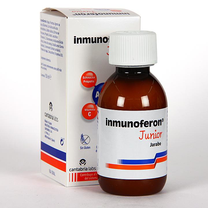 Farmacia Jiménez | Inmunoferon Junior Jarabe 150 ml