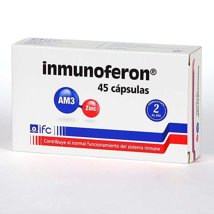 Farmacia Jiménez | Inmunoferon 45 Cápsulas