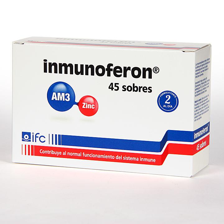 Farmacia Jiménez | Inmunoferon 45 Sobres