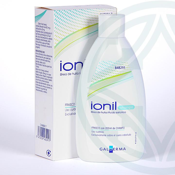 Farmacia Jiménez   Ionil Champú solución tópica 200 ml