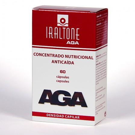 Farmacia Jiménez | Iraltone AGA anticaída 60 cápsulas