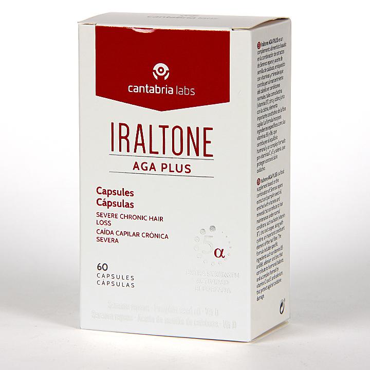 Farmacia Jiménez | Iraltone AGA Plus 60 Cápsulas