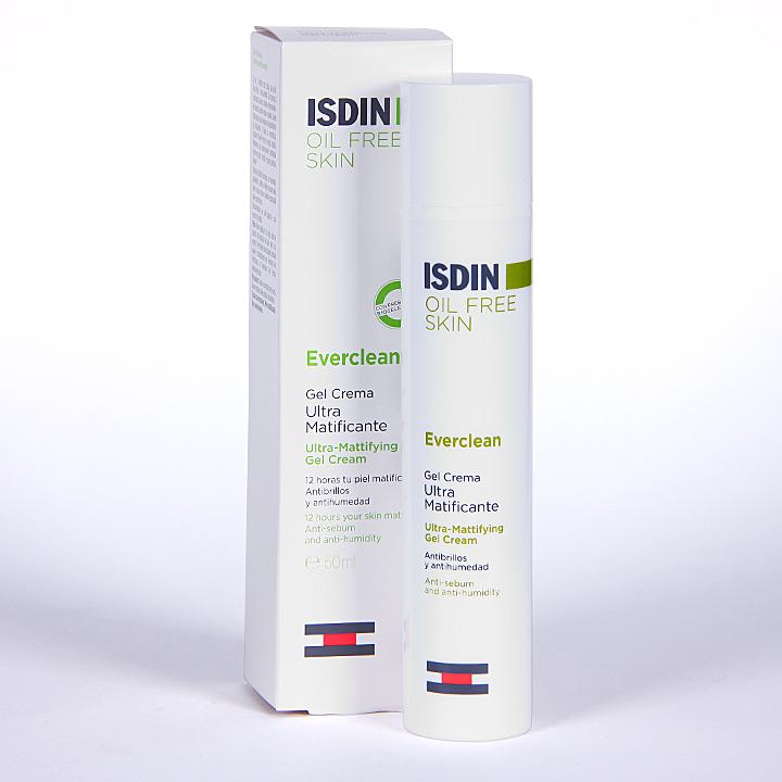 Farmacia Jiménez | Isdin Everclean Gel crema ultramatificante 50 ml