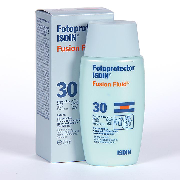 Farmacia Jiménez | Isdin Fotoprotector Fusion Fluid FPS 30 50ml