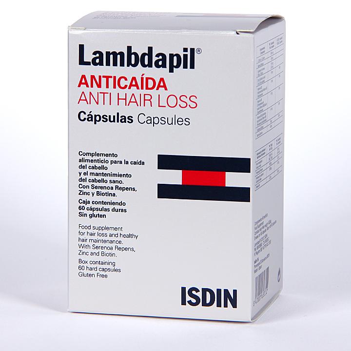 Farmacia Jiménez | Isdin Lambdapil Anticaída 60 cápsulas