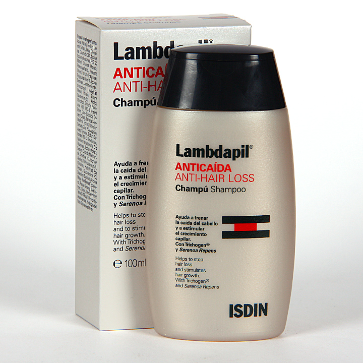 Farmacia Jiménez | Isdin Lambdapil Anticaída Champú 100 ml