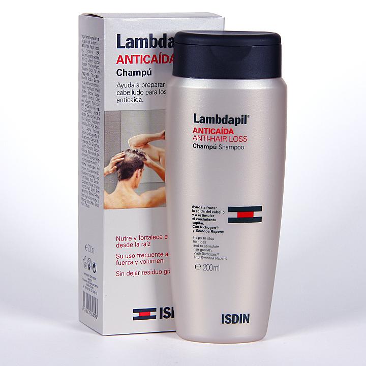 Farmacia Jiménez | Isdin Lambdapil Anticaída Champú 200 ml