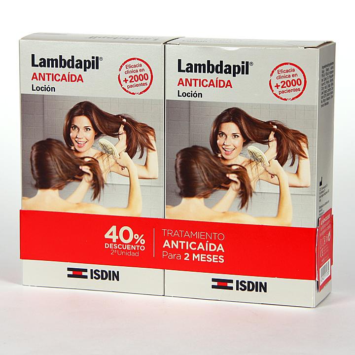 Farmacia Jiménez | Isdin Lambdapil Anticaída Loción Pack Duplo 40 monodosis