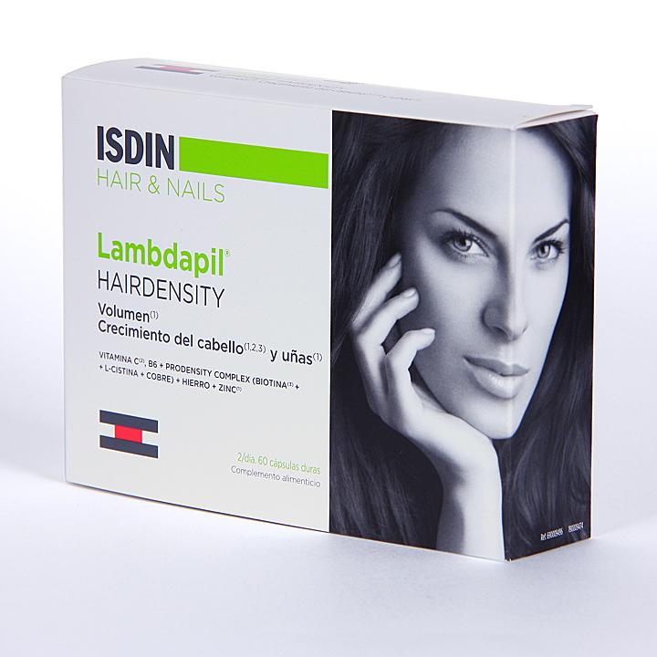 Farmacia Jiménez | Isdin Lambdapil Hairdensity 60 cápsulas