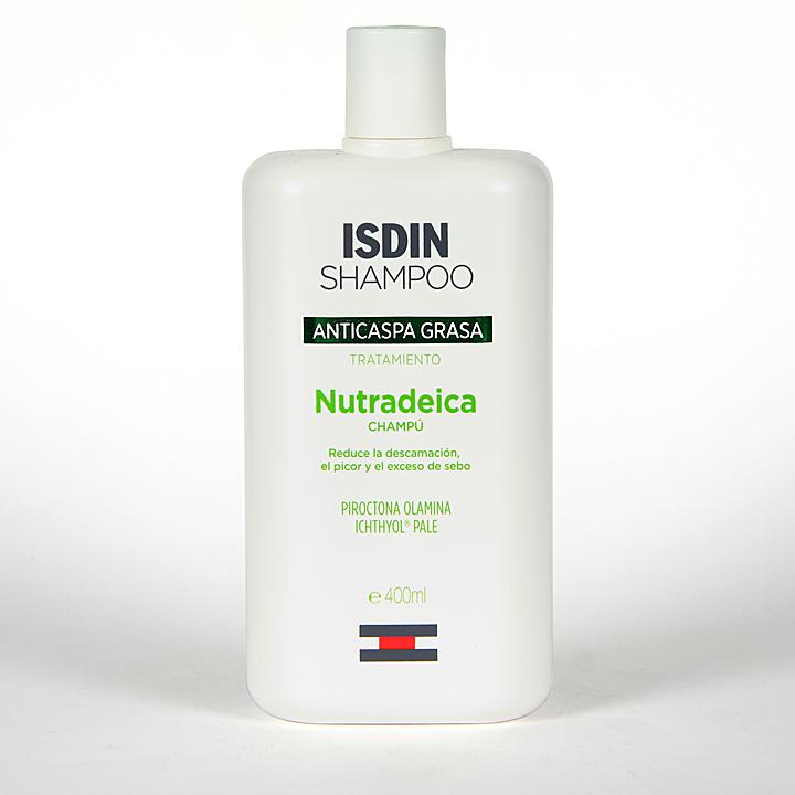 Farmacia Jiménez | Isdin Nutradeica Champú Anticaspa Grasa 400 ml