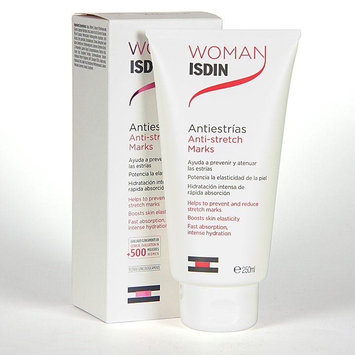 Farmacia Jiménez | Woman Isdin Crema Antiestrías 250 ml