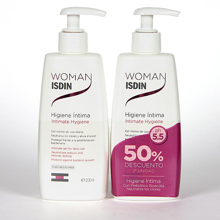 Farmacia Jiménez | Woman Isdin Higiene Intima 200 ml Pack Duplo