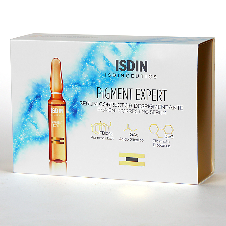 Farmacia Jiménez | Isdinceutics Pigment Expert 30 ampollas