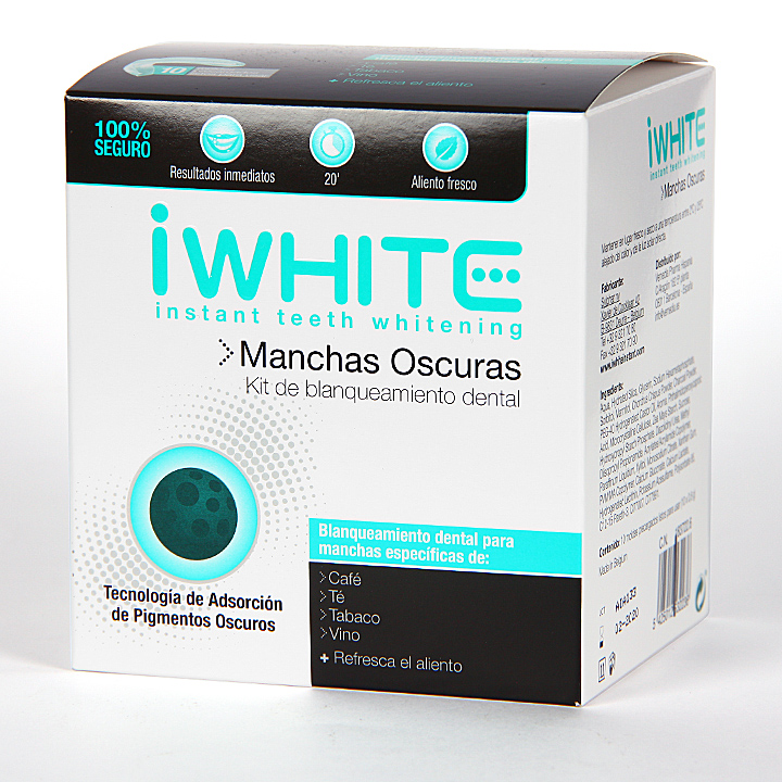 Farmacia Jiménez | Iwhite Instant Kit de Blanqueamineto Dental Manchas Oscuras