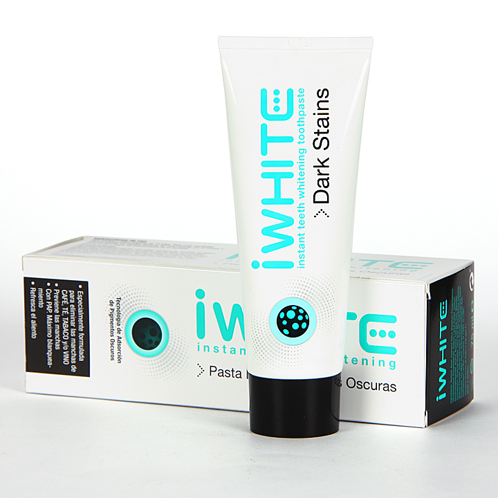 Farmacia Jiménez | Iwhite Pasta Dental Manchas Oscuras 75 ml
