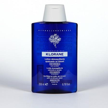 Farmacia Jiménez | Klorane Loción Desmaquillante de ojos al aciano 200ml