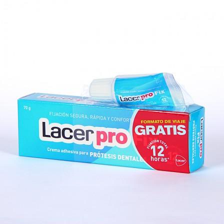 Farmacia Jiménez | LacerPro Fix crema adhesiva para prótesis dentales 70 g
