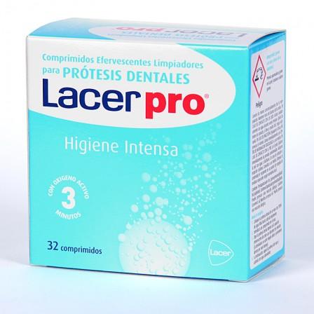 Farmacia Jiménez | LacerPro Limpiador prótesis dentales 32 comprimidos