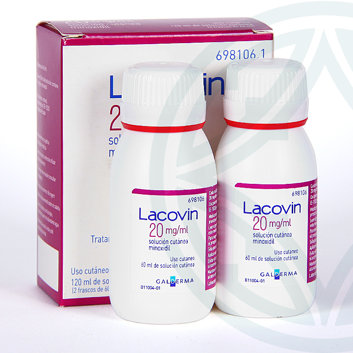 Farmacia Jiménez | Lacovin 2% 20 mg/ml solución cutánea 120 ml