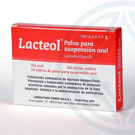 Farmacia Jiménez | Lacteol 10 sobres