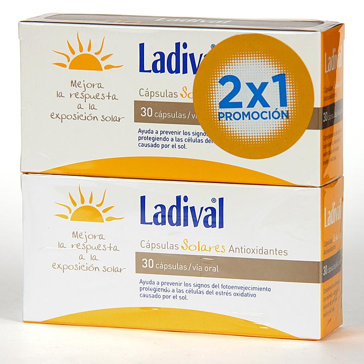Farmacia Jiménez | Ladival cápsulas solares 30 unidades 2×1