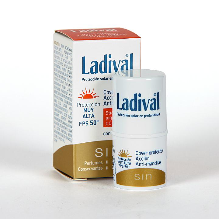 Farmacia Jiménez | Ladival Cover Acción Anti-manchas SPF 50+ 4gr