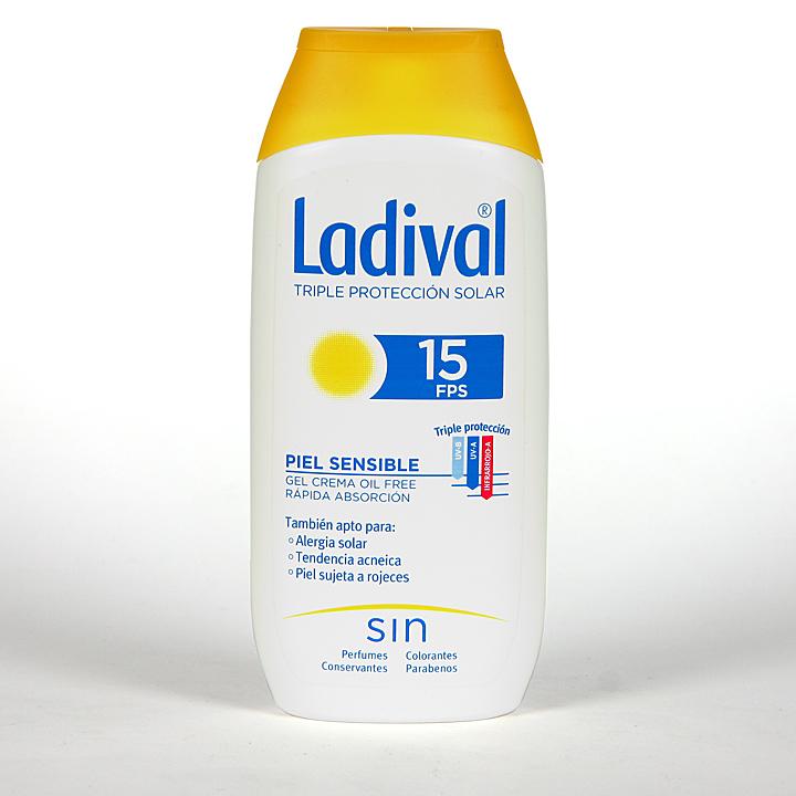 Farmacia Jiménez | Ladival Pieles sensibles o alérgicas SPF 15 200 ml