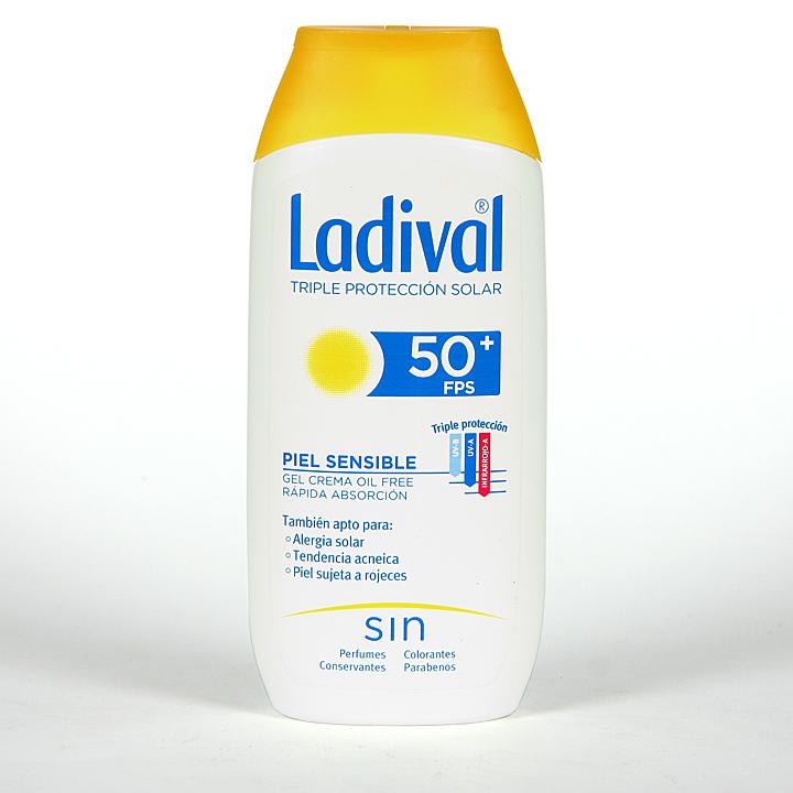 Farmacia Jiménez | Ladival Pieles sensibles o alérgicas SPF 50+ 200 ml