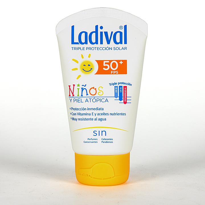 Farmacia Jiménez | Ladival Niños y pieles atópicas SPF 50+ 50 ml