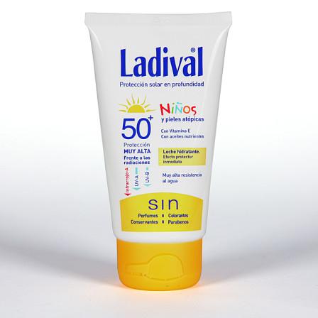Farmacia Jiménez | Ladival Niños y pieles atópicas SPF 50+ 75 ml