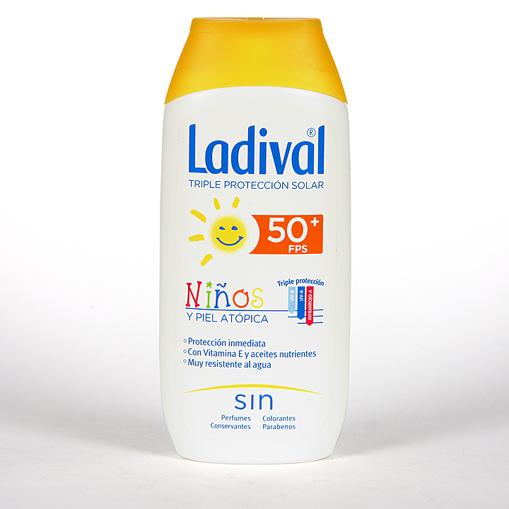 Farmacia Jiménez | Ladival Niños y pieles atópicas SPF 50+ 200 ml