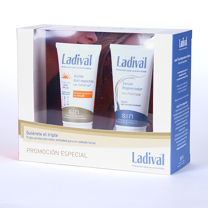 Farmacia Jiménez | Ladival Pack Cofre Antiedad Color