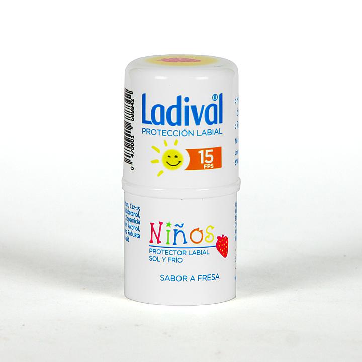 Farmacia Jiménez | Ladival Protector Labial Niños SPF 15