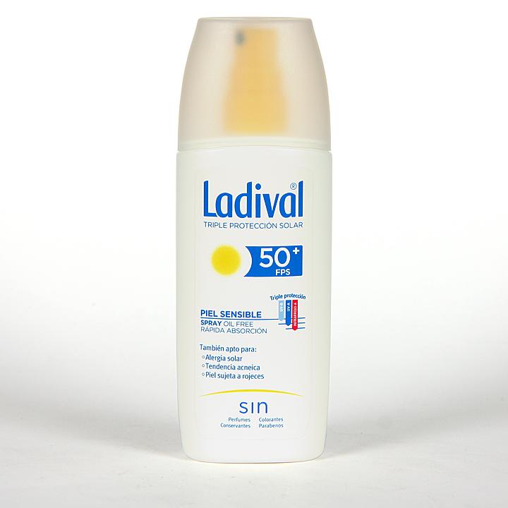 Farmacia Jiménez | Ladival Spray Pieles sensibles o alérgicas SPF 50+ 150 ml