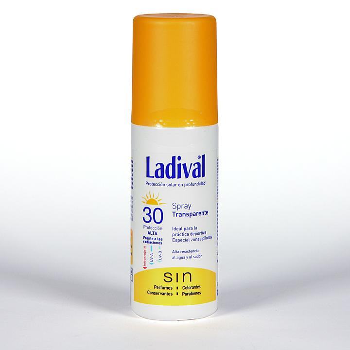 Farmacia Jiménez | Ladival Sport Spray Transparente SPF 30 150 ml
