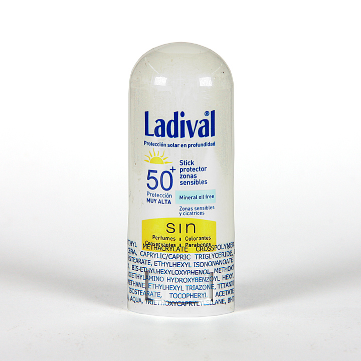 Farmacia Jiménez | Ladival Stick Protector zonas sensibles SPF 50+ 9gr