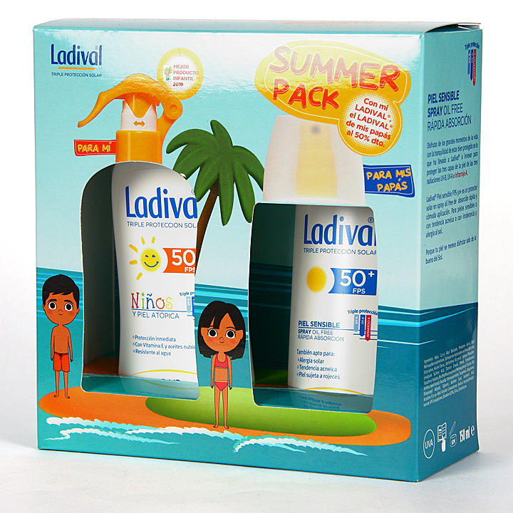Farmacia Jiménez | Ladival Summer Pack Familiar