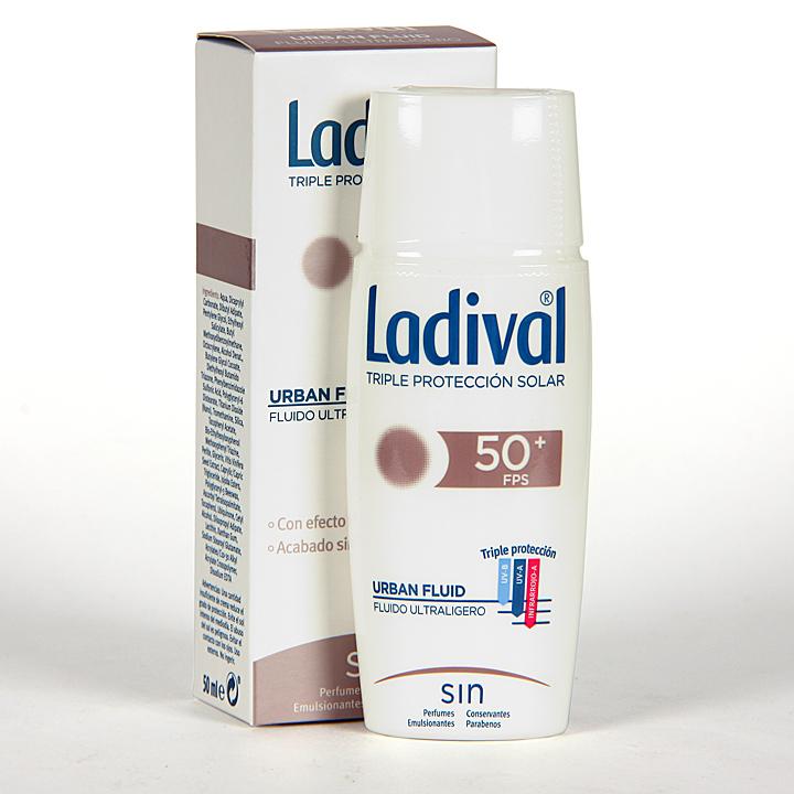 Farmacia Jiménez | Ladival Urban Fluid SPF 50+ 50 ml