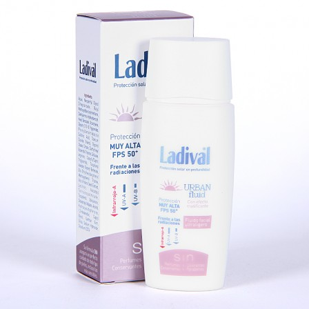 Farmacia Jiménez | Ladival Urban Fluid SPF 50+ 50 ml
