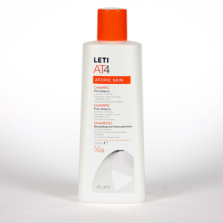 Farmacia Jiménez | Leti AT4 Atopic Skin Champú 250ml