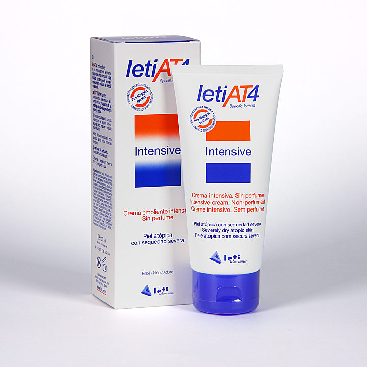 Farmacia Jiménez | Leti AT4 Crema Intensive 100 ml