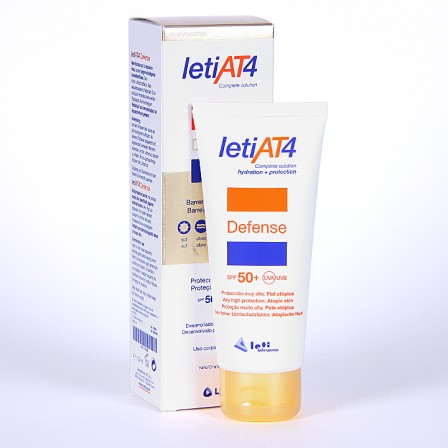 Farmacia Jiménez | Leti AT4 Defense Crema Barrera 100 ml