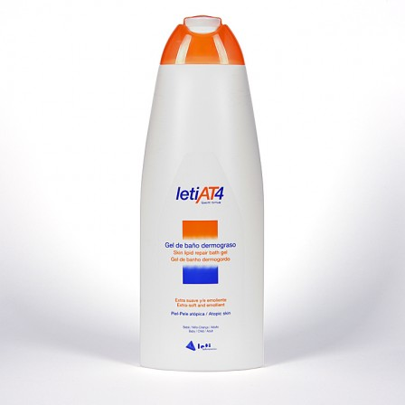Farmacia Jiménez | Leti AT4 Gel de baño dermograso 750 ml