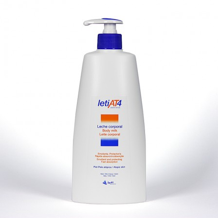 Farmacia Jiménez | Leti AT4 Leche Corporal 500ml