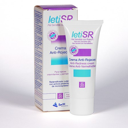 Farmacia Jiménez | LetiSR Crema Anti-rojeces 40 ml