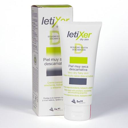 Farmacia Jiménez | Letixer D Crema Corporal piel muy seca descamativa 200ml
